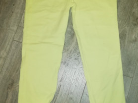 Отдам Брюки летние женские р. 42-44, цвет лимонный