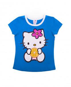 "Футболка ""Hello Kitty"" (бирюзовая)"
