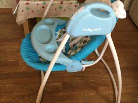 электрокачели с адаптером babycare