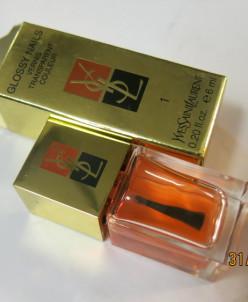 YSL Glossy Nails блеск для ногтей 1