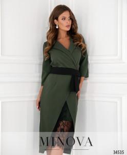 Платье №3016-1-Хаки
