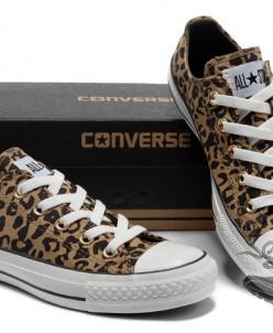 Леопардовые низкие Converse AllStars!