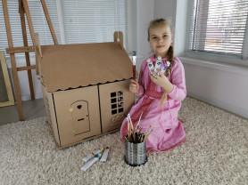 Кукольный домик для творчества