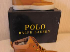 Кеды кожаные Polo Ralph Lauren новые оригинал