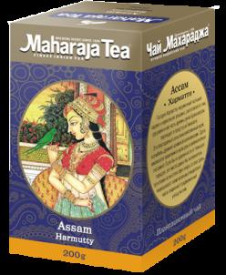 """Чай Махараджа индийский чёрный байховый Ассам """"Хармати"""" 200г"""
