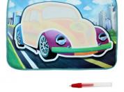 """Коврик для рисования водой """"Автомобиль"""""""