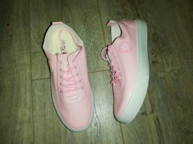 Кеды - Кроссовки, мягкие цвет розовый Р 36-39