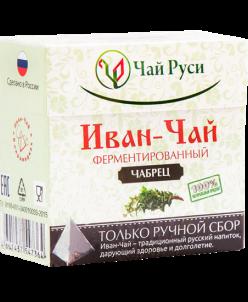Иван-чай с чабрецом в пакетиках-пирамидках (20 пирамидок)