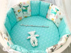 Бортики заборчики в детскую кроватку
