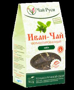 Иван-чай крупнолистовой ферментированный с мятой (70 гр)