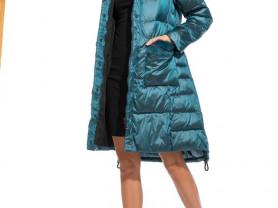Пальто с мехом норки р.44