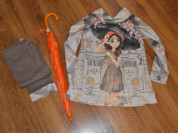 Комплект блуза, брюки и зонт Cocoland (Турция)