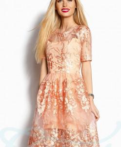 Коктейльное пышное платье Gepur