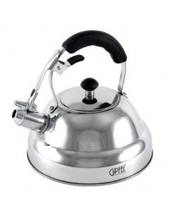 8600 GIPFEL Чайник со свистком COSMO 2,5л. Материал: нерж ст