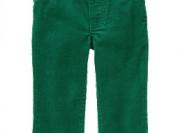 Вельветовые джинсы Джимбори- зеленые