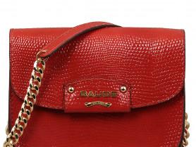 Новая кожаная сумка клатч Gaude Италия