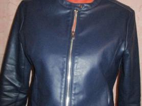 Куртка кожаная modis 44-46 м