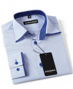 Рубашка в полоску  152-158 см