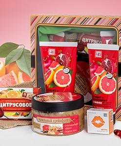 """Подарочный набор косметики """"Гранат и грейпфрут"""""""