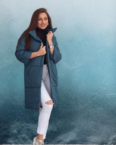 Куртка женская демисезонная 21680 (джинс)