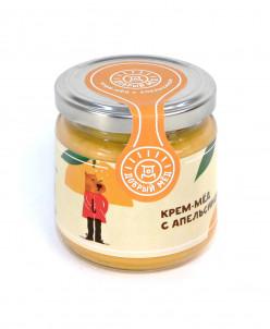 Крем-мед с апельсином 220 мл