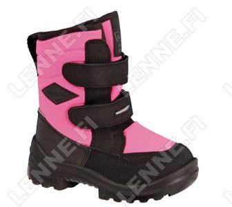 Зимние ботинки на липучках Crosser Neonpink Kuoma