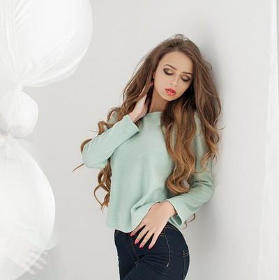 Ангоровый свитер №1337