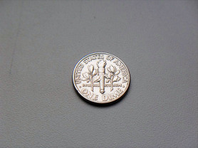 1 Дайм 1992 год P США