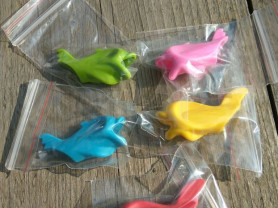 Насадка рыбка на карандаш или ручку для ребенка
