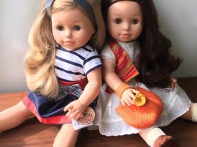 Куклы Эмма и Эмили от Паола Рейна (Paola Reina)