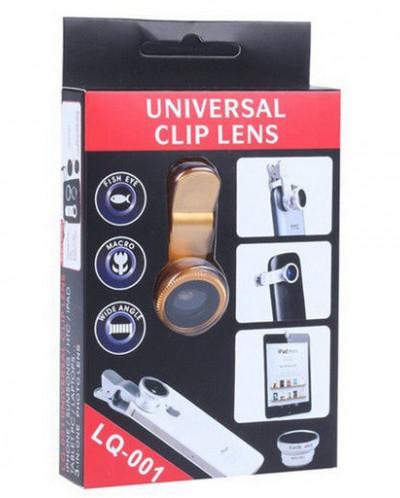 Универсальная линза 3 в 1 для телефона LQ-001