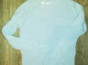 Отдам кофточку свитер р. 42 хлопок.. Цвет голубой.