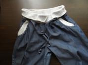 Капри на рост 158 джинс