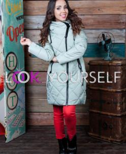 Куртка в ромбик (арт. 8082)