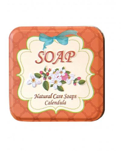 Натуральное мыло с календулой, 110 гр.