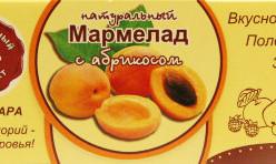 """Мармелад без сахара """"Абрикос"""" 140г"""
