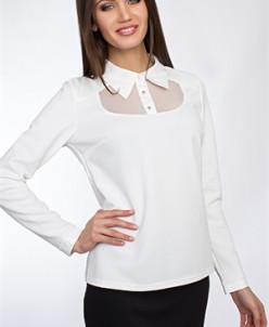 Блуза #0384b (Белый)