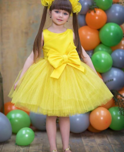 Пышное платье.