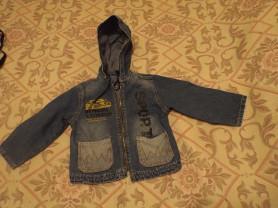 детские джинсовая куртка