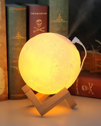 Ночник-светильник луна с ионизатором воздуха 13 см