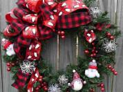 Выездной мастер-класс Рождественский венок