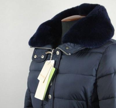 Пальто женское зимнее (тинсулейт, нат. мех кролика)
