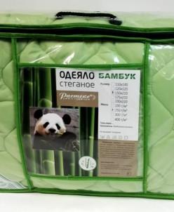 """Одеяло стеганое """"бамбук"""" евро"""