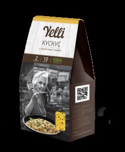 Коллекция  Yelli 2 порции- Кускус с ароматными травами