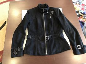Куртка замша р.38