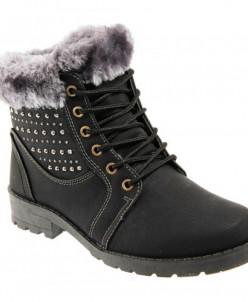 Ботинки зимние Tomax 9901-1 черный (36-41)