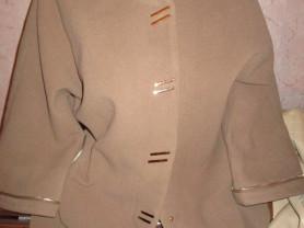 Пальто кашемировое новое 44-48  90см длина