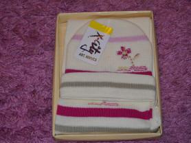 Новый Комплект шапка и шарф, р.50-52, Польша