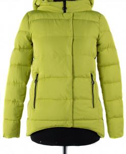 04-1185 Куртка демисезонная (синтепух 150) Плащевка Лайм