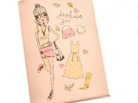 Обложка для паспорта из коллекции «Fashion girl»